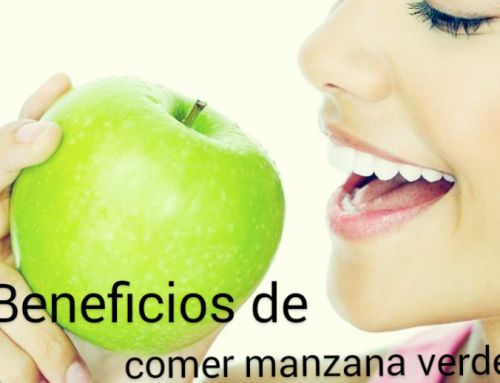 ¿Por qué es bueno comer manzana verde?