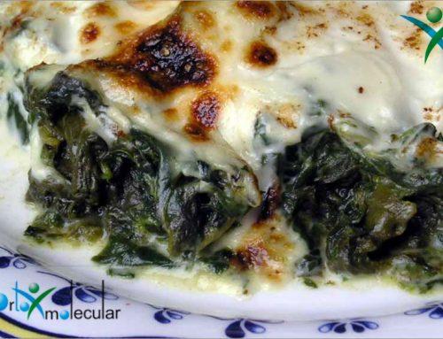 Prepara unas deliciosas espinacas a la crema